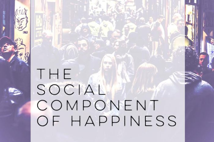 The Social Component of Happiness