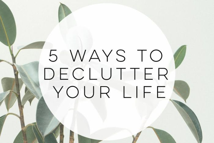 5-ways-to-declutter-your-life