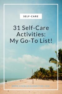 31 Self-Care Activities