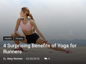 Glossy Cover _ Yoga for Runners